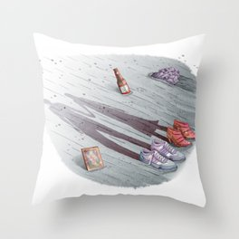 Enjoy it while you can. Throw Pillow