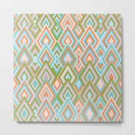 rhombus 3 Metal Print