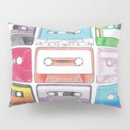 Cassettes Pillow Sham