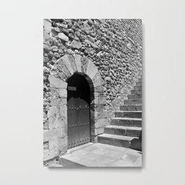 A door in Taormina, Sicily Metal Print