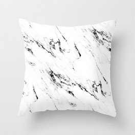 Classic Marble Throw Pillow