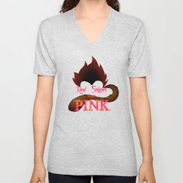 Real Saiyans Wear Pink Unisex V-Neck