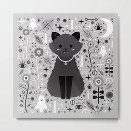 Kitten Fang  Metal Print