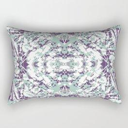 Modern Collage Ornate Pattern Rectangular Pillow