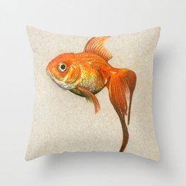 """Goldie"" Throw Pillow"