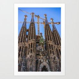 La Sagrada Família Art Print