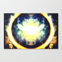 halo Canvas Prints featuring HALO by Chrisb Marquez