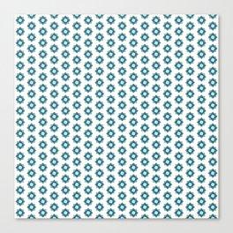 Mandala pattern smal Turquiose Canvas Print