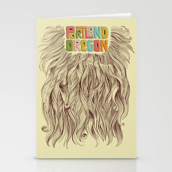 Portland = Beards Stationery Cards