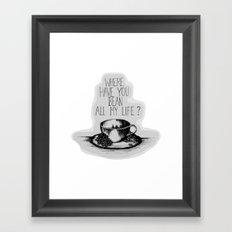 Long Lost Coffee Framed Art Print