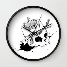 Queen Cat Wall Clock