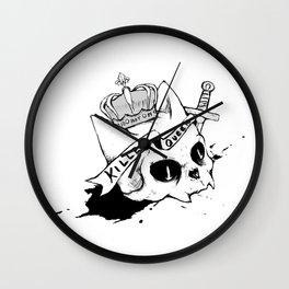 Queen Cat Wall Clock