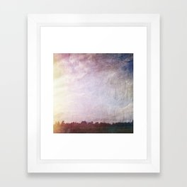 Canvas Horizon Framed Art Print