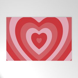 Hypnotic Hearts Welcome Mat