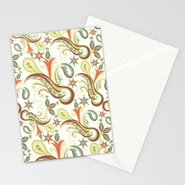 Paisly ornament Stationery Cards