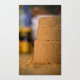 Elemental Baking - Brown Sugar Canvas Print