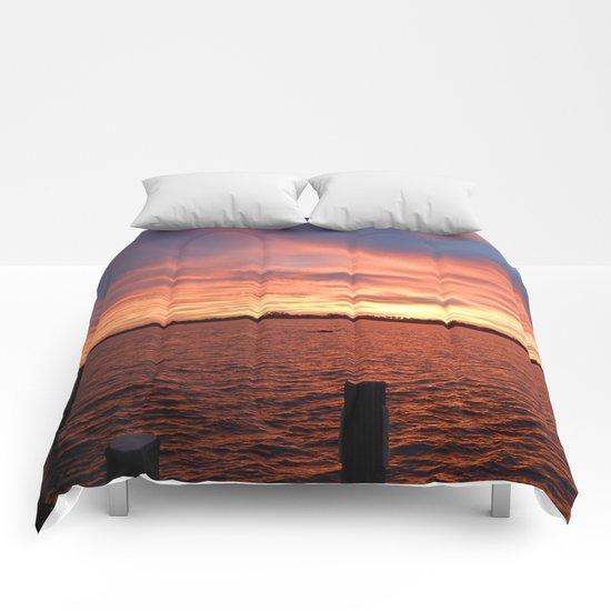 Florida Sunset Comforters
