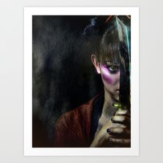Midnight Assassin Art Print