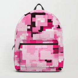 Teen Girl Tones Pixelate Glitch Backpack