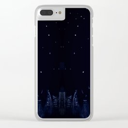 city and the stars Clear iPhone Case