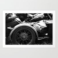 motorcycle Art Prints featuring motorcycle by Falko Follert Art-FF77