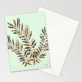 Animal Leaves Stationery Cards