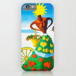 Vintage Sicilia Italia - Sicily Italy Travel iPhone Case