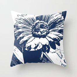 Sunflower nile Throw Pillow