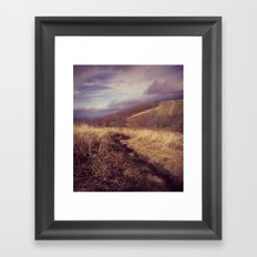 Mountain Trail Framed Art Print