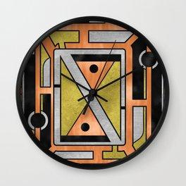 Star Chart - Metallic Coloring Wall Clock