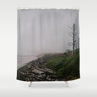 oregon Shower Curtains featuring Oregon Coast: II // Oregon by Corrie Mick