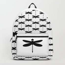 Bugs: abstract Dragonfly Backpack