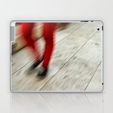 Red Hot Walking Laptop & iPad Skin