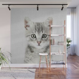Kitten - Colorful Wall Mural