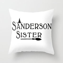 Sanderson Sister Throw Pillow