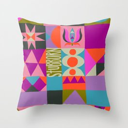 Stubborn Throw Pillow
