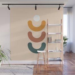Abstract shapes 1 (Minimalism artwork) Wall Mural