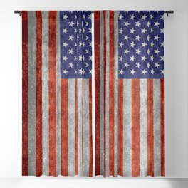 United States of America Flag 10:19 G-spec Vintage Blackout Curtain
