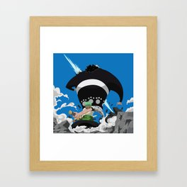 Zoro - Shishi Sonson Framed Art Print