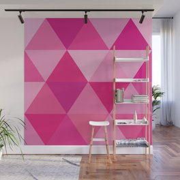 Story of Pinks and Fuchsias Wall Mural