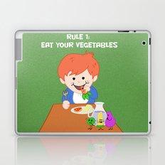 Rule #1: Eat your vegetables Laptop & iPad Skin
