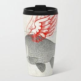 Flying Goldfish Travel Mug