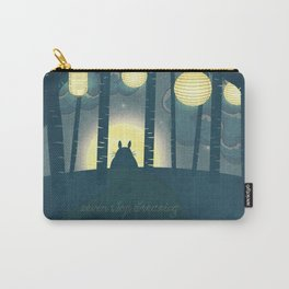Totoro ' s Dream  Carry-All Pouch