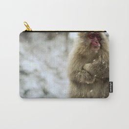 Japanese macaque Snow Monkey Carry-All Pouch