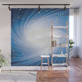 Stars, Light and Motion in space Wall Mural