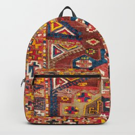 Yürük  Antique East Turkish Rug Print Backpack
