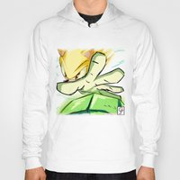 kindle Hoodies featuring Light in Doomsday by garciarts