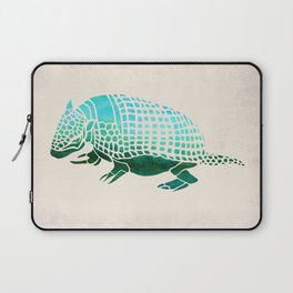 Watercolor Armadillo Laptop Sleeve