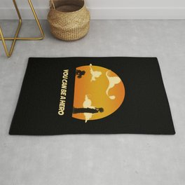 My Hero Sunset Rug