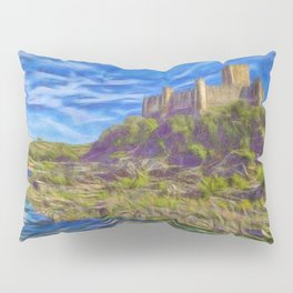The Knights Templar fort of Almourol Pillow Sham